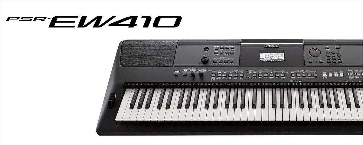 Yamaha PSR-EW410 - JAM.UA