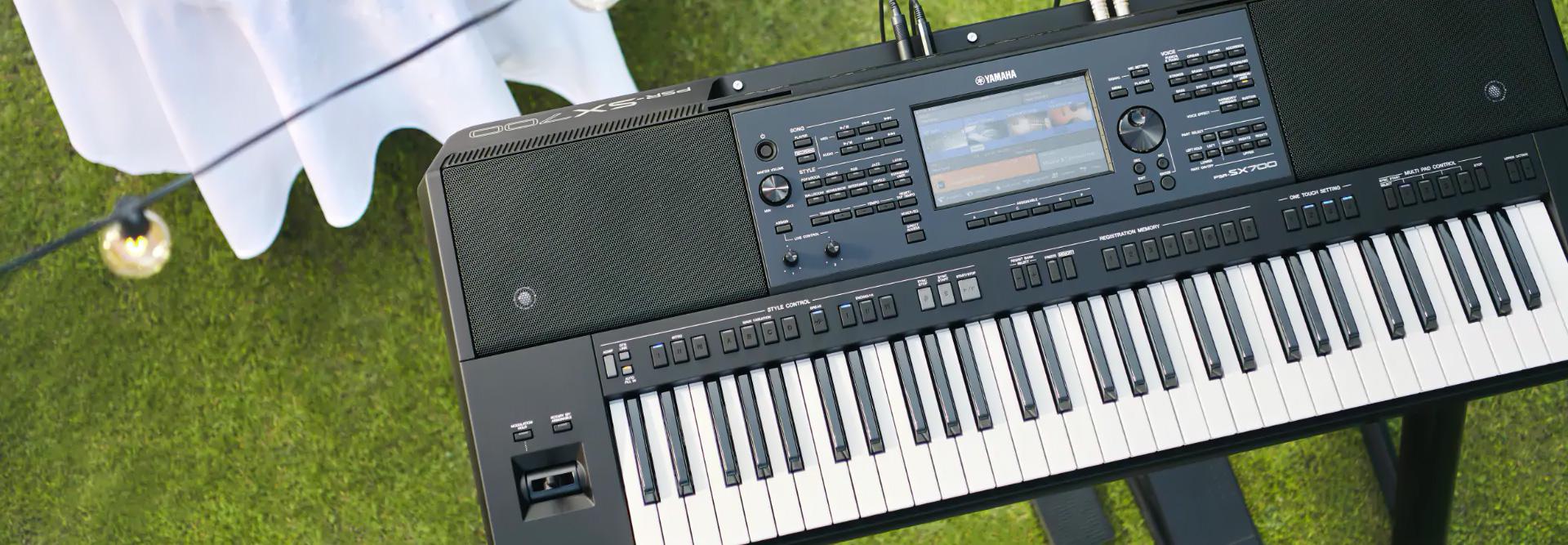 Yamaha PSR-SX700 - JAM.UA